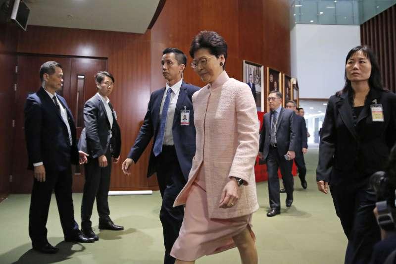 德國庇護黃台仰和李東昇,香港特首林鄭月娥表達不滿(AP)