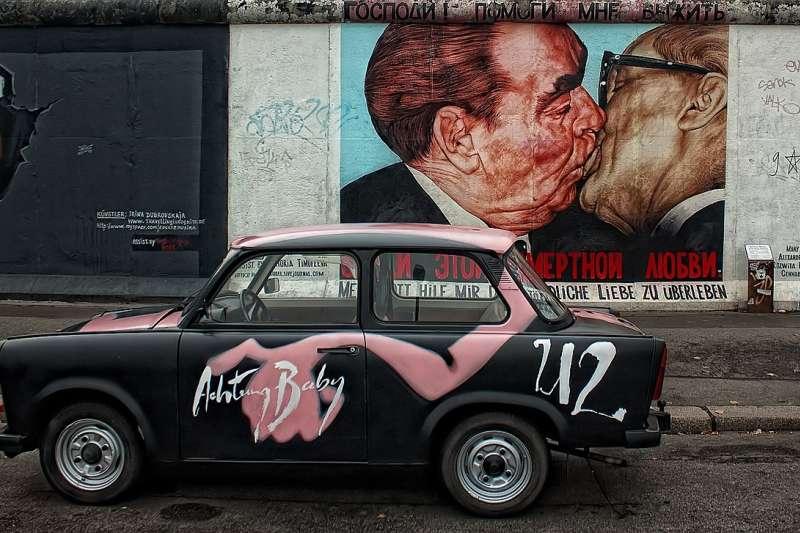 柏林圍牆(取自pixabay)
