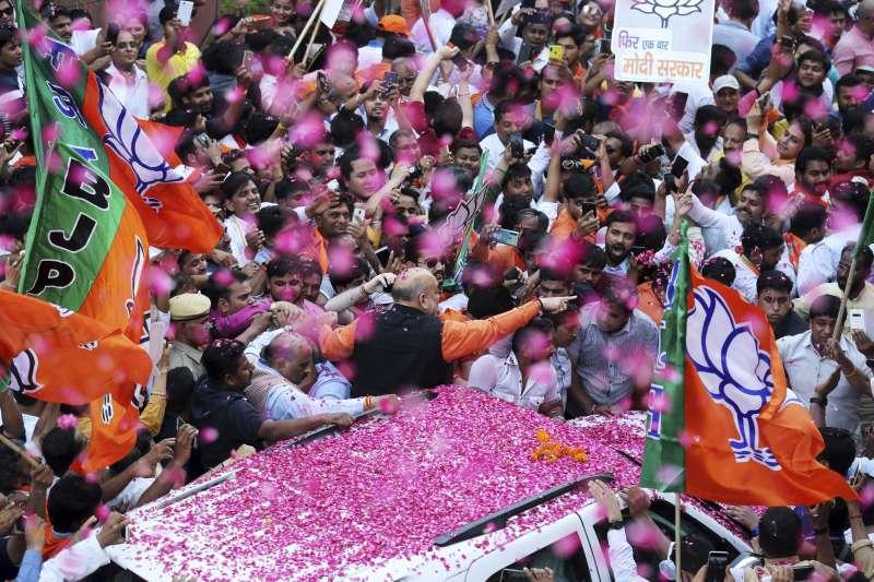 2019年印度國會選舉,總理莫迪率領人民黨大勝(AP)