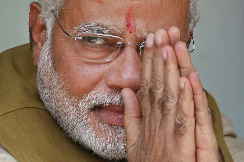 2019年印度國會大選,總理莫迪(Narendra Modi)領導人民黨大勝(AP)