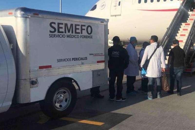 一名42歲日籍男性從墨西哥飛往東京途中暴斃,被發現體內藏有246袋古柯鹼。(截自FGJE Sonora臉書)