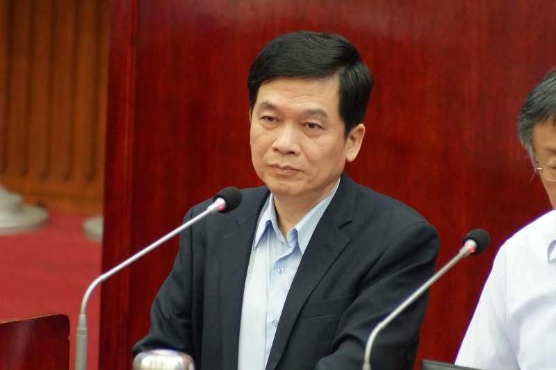 20190529-台北市都發局長黃景茂出席市政總質詢。(盧逸峰攝)
