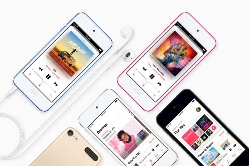 蘋果重推iPod touch,配備i7處理器,定價僅六千。(圖/Apple)