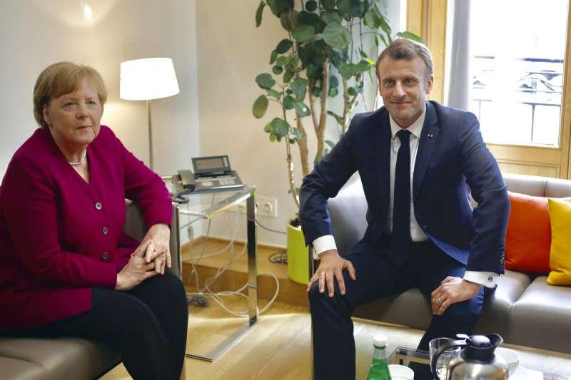歐盟執委會主席之爭:德國總理梅克爾與法國總統馬克宏意見分歧(AP)