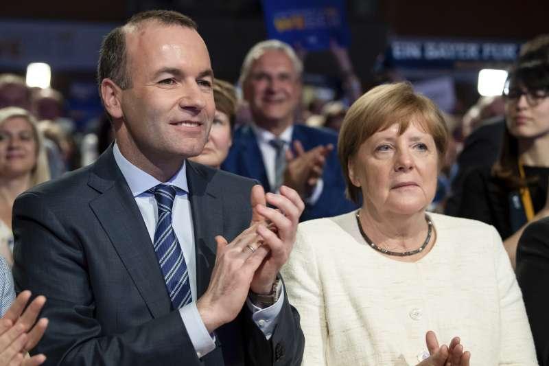 歐盟執委會主席之爭:歐洲議會最大政團EPP領導人韋伯獲得德國總理梅克爾力挺(AP)