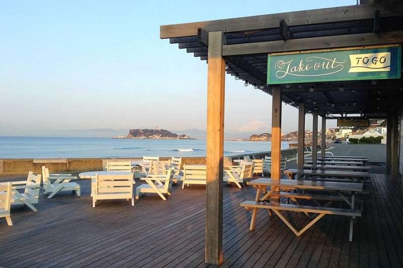 鎌倉有許多咖啡廳,也是海濱度假勝地。(取自Inn By The Sea Kamakura臉書)