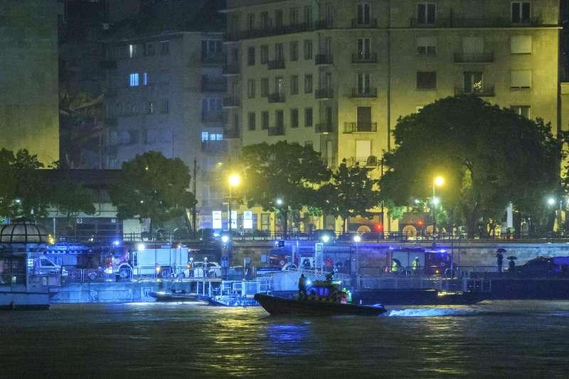 2019年5月29日,匈牙利多瑙河遊輪「美人魚號」撞船後沉沒,造成慘重傷亡(AP)