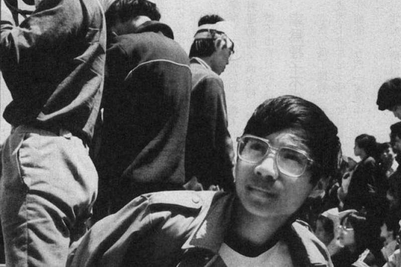 學運時擔任領袖的王丹,在六四後兩度入獄。(新新聞資料照)
