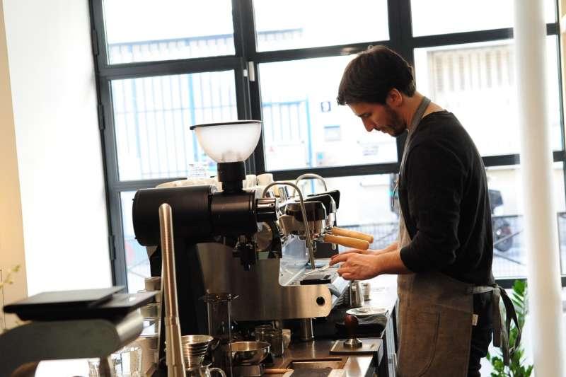 Café Coutume 的咖啡師。(來源:Café Coutume)