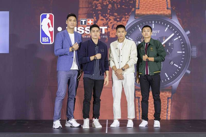 國內各層級頂尖籃球受天梭表邀請,暢談籃球夢。 (圖/主辦單位提供)