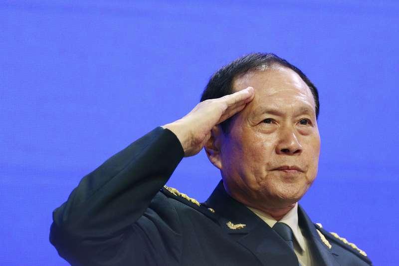 新加坡「香格里拉對話」,中國國務委員兼國防部長魏鳳和(AP)