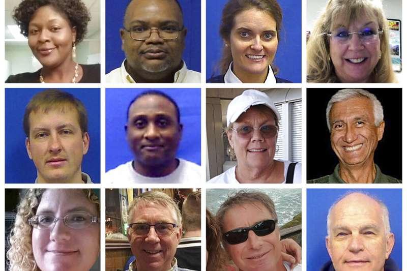 5月31日下午,維吉尼亞洲濱大西洋的「維吉尼亞海灘市」市政府公用事業部門的專業工程師克雷多克闖入辦公室,持兩把合法購買的手槍掃射,造成12人罹難、4人輕重傷。(AP)