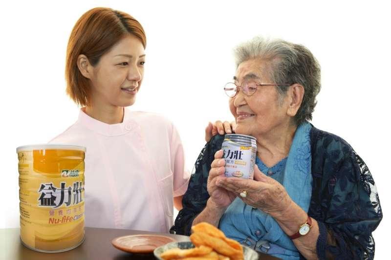 臺灣的本土營養品品牌表示用「營養品質」來支撐起全民的健康生活,深受消費者與專業醫療機構的關注,讓營養概念深植人心。(圖/益富)