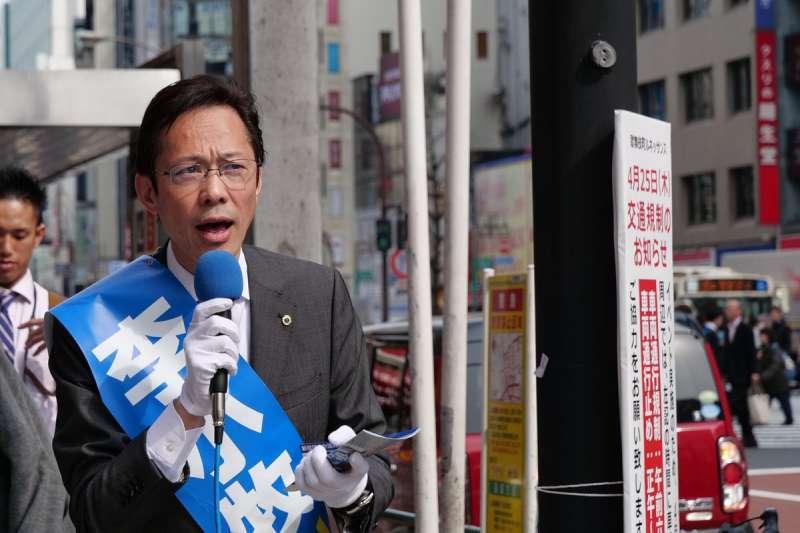 李小牧做過許多職業,從案內人到政治家他都經歷過,也難怪有人會稱他是在日本最知名的中國人之一。(圖/翻攝自李小牧twitter,leekomaki@twitter)
