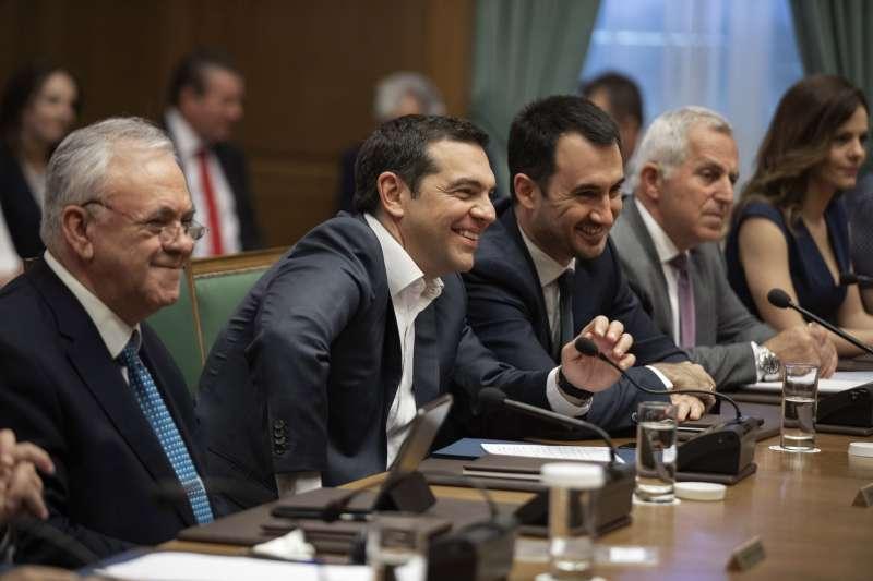 2019年5月歐洲議會選舉,希臘總理齊普拉斯(Alexis Tsipras)領導的「左翼聯盟」(Syriza)失利(AP)