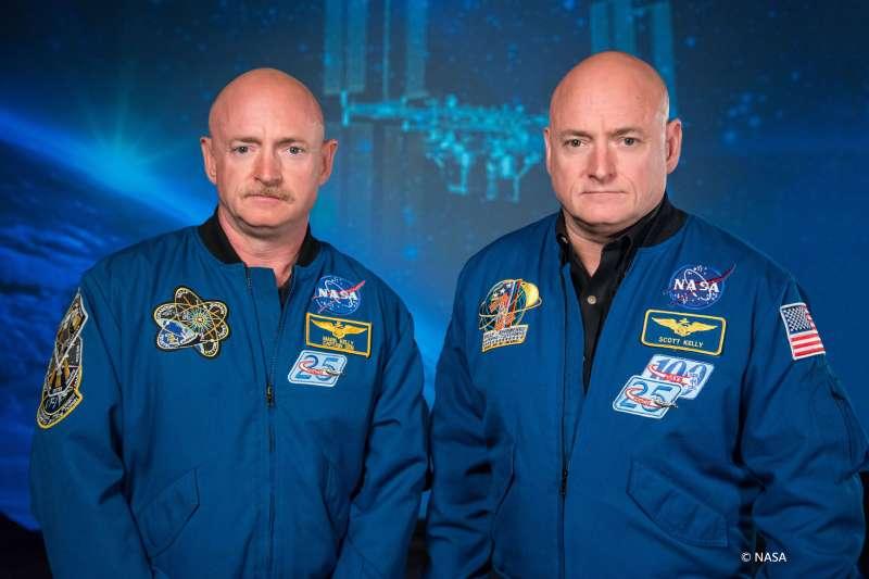 我和我的雙胞胎哥哥馬克,都成為了夢想中的太空人。(圖/三采文化)