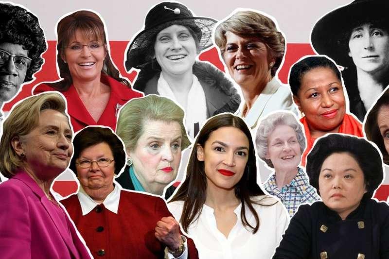 1919年6月4日,美國女性獲得選舉權,細數美國百年來的風雲女性。(BBC中文網)