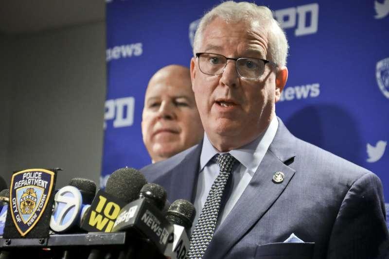 紐約市警察局(NYPD)局長歐尼爾(James O'Neill)。(美聯社)