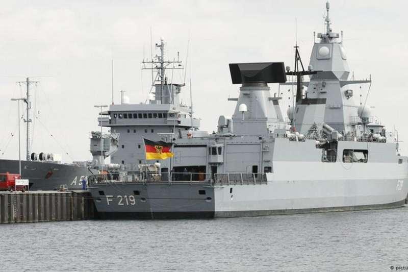 德國派軍艦穿越台灣海峽?柏林否認已定案(DW)