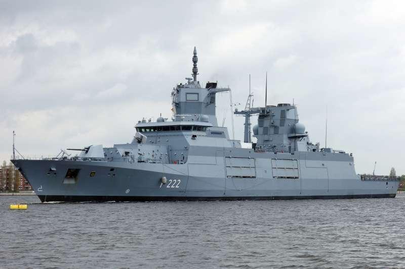 德國海軍巡防艦「巴登─符騰堡號」(Baden-Württemberg)(Ein Dahmer@Wikipedia / CC BY-SA 4.0)