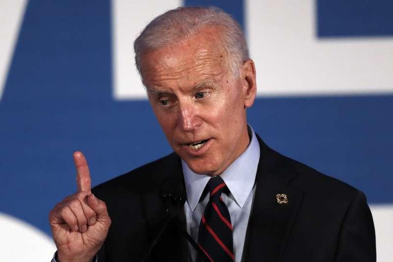 2020年美國總統大選參選人、民主黨籍前副總統拜登(Joe Biden)(AP)