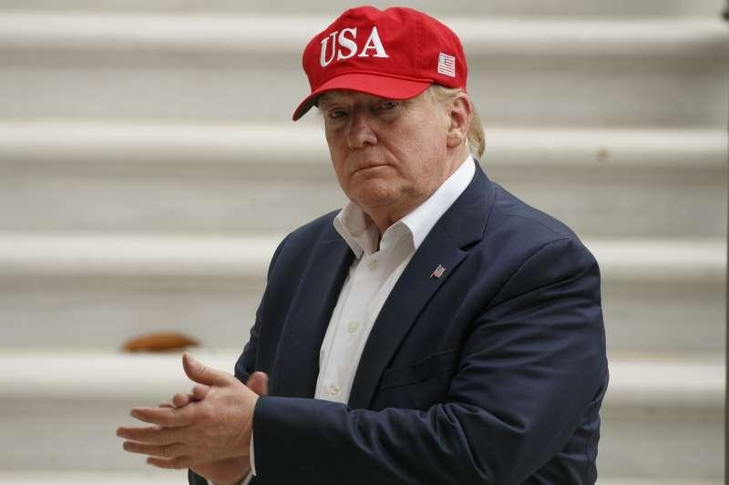 美國總統川普7日宣布,墨西哥政府已經同意加強國家的邊界管控,他將無限期暫停對墨西哥商品加徵5%關稅。(美聯社)