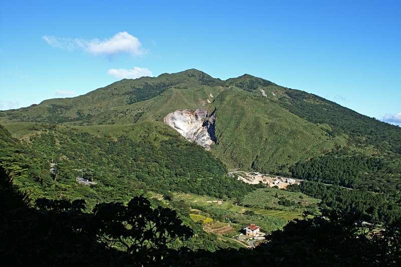大屯山一旦爆發,台北市恐被吞噬?(圖/維基百科)