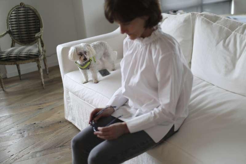 瑞典林科平大學研究指出,飼主和狗狗的壓力荷爾蒙濃度出現同步化現象,可能是人類將壓力傳給了狗狗。(美聯社)