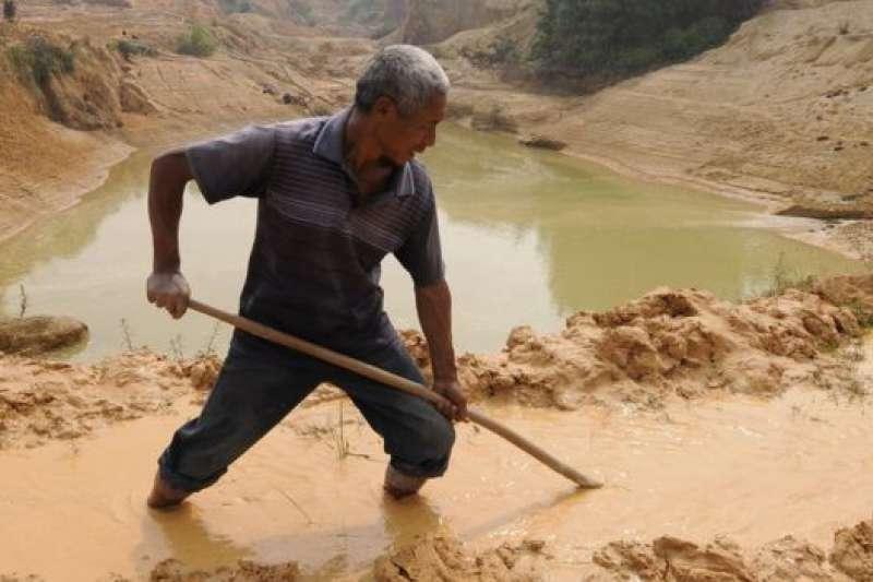 稀土礦開採和加工對環境破壞嚴重