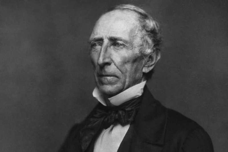 美國第10位總統泰勒(John Tyler)(Wikipedia / Public Domain)