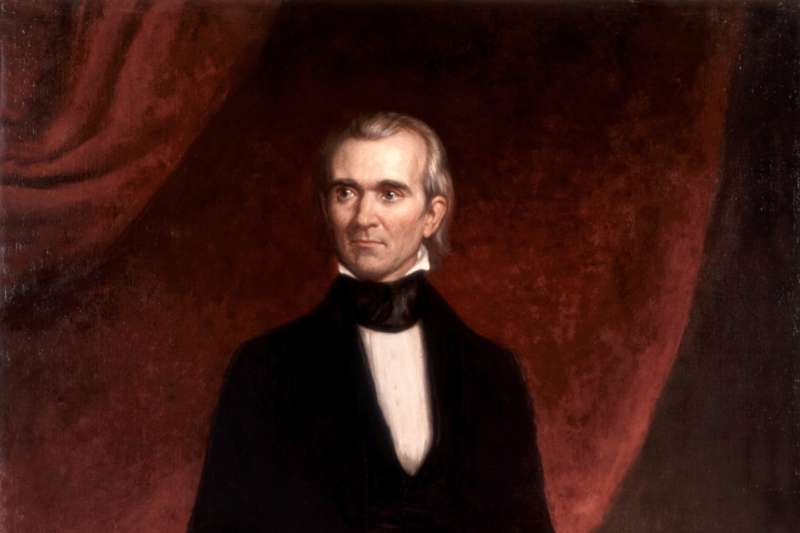 美國第11位總統波爾克(James K. Polk)(Wikipedia / Public Domain)