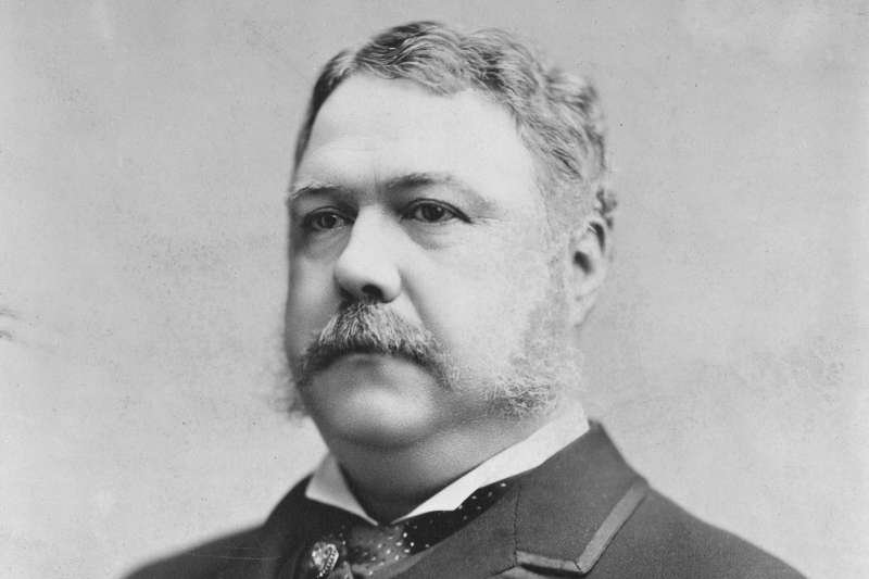 美國第21位總統(Chester Arthur)(Wikipedia / Public Domain)