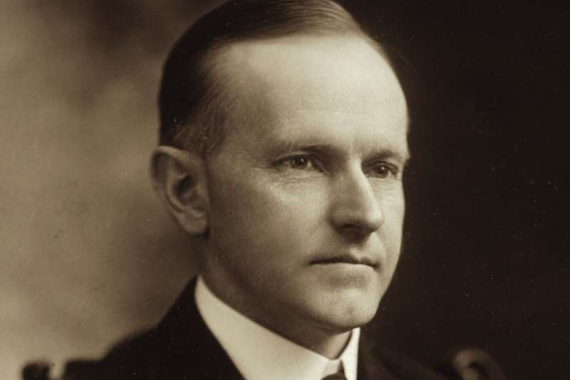 美國第30位總統柯立芝(Calvin Coolidge)(Wikipedia / Public Domain)
