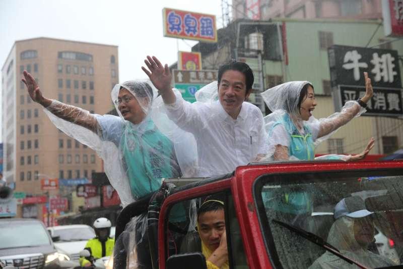 前行政院長賴清德「壯大台灣」車隊11日自新竹出發,揮軍北上至凱道。(賴清德辦公室提供)