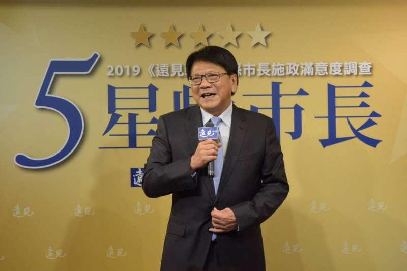 《遠見雜誌》公布2019縣市長施政滿意度調查,屏東縣長潘孟安(見圖)首度獲得5星首長肯定。(屏東縣政府提供)