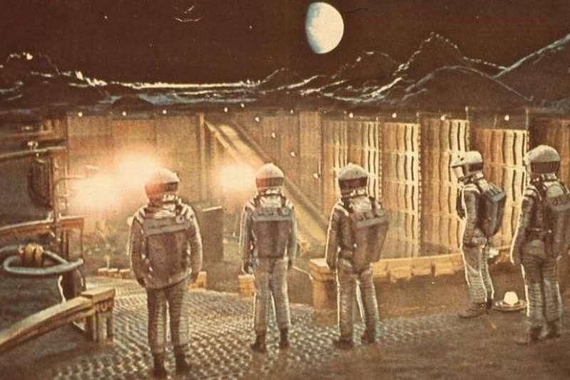 庫布裏克的《2001太空漫遊》1968年上映。 (BBC中文網)