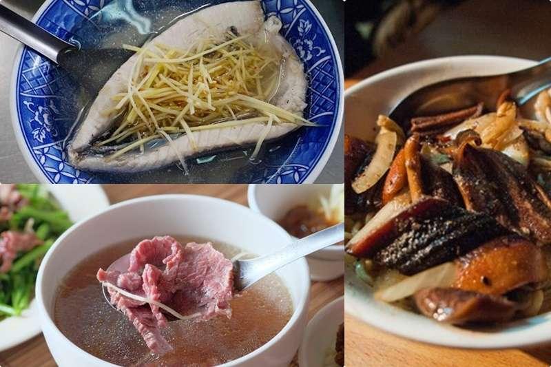 一講到台南,許多人都會想起各式各樣的美食,從早吃到晚不怕沒得吃,就怕胃裝不下啊!(圖/網路溫度計提供|風傳媒合成)