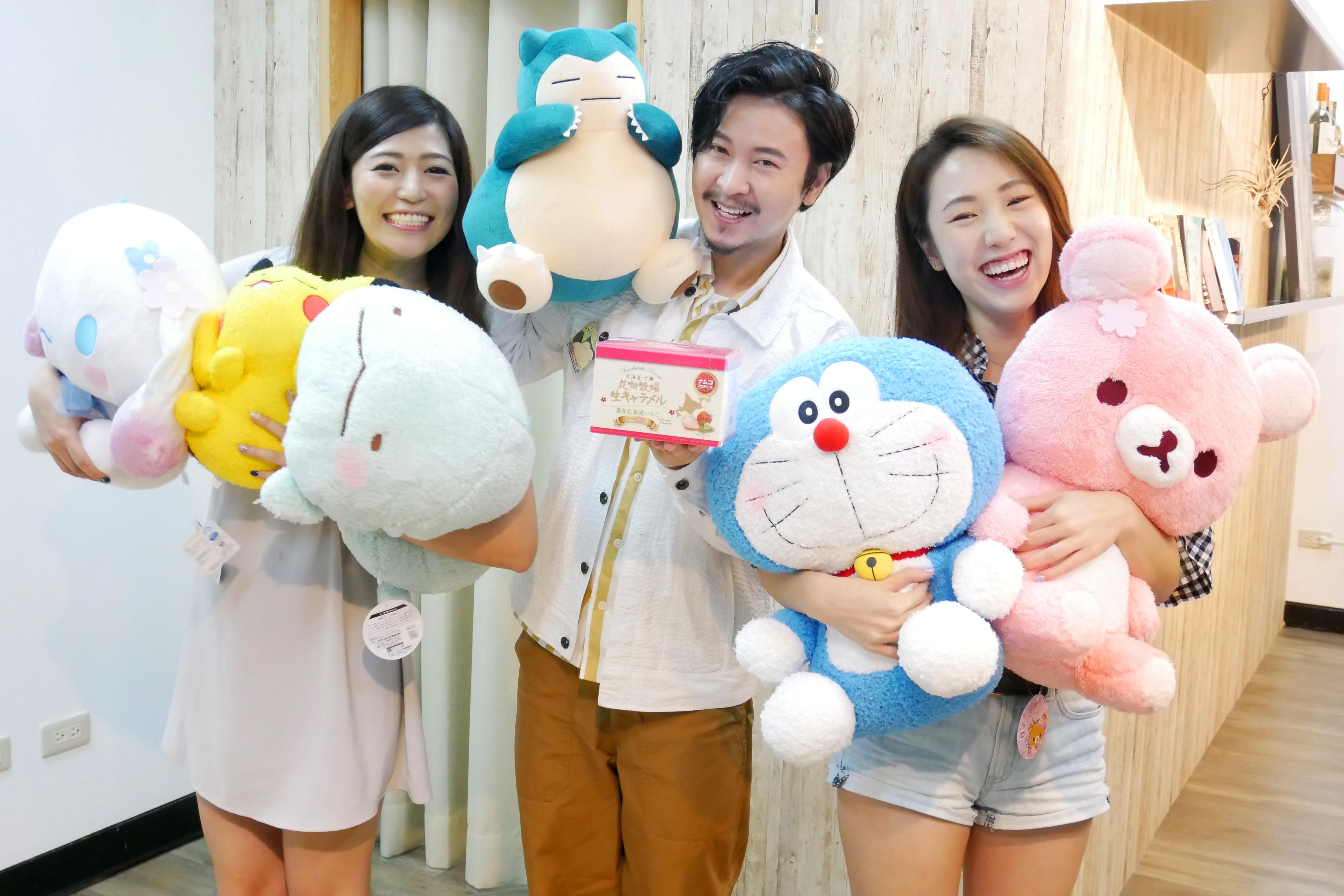 日本線上夾娃娃機「ToRu夢」,可遠端抓取各式正版的限量商品,並直送台灣 (圖/BANDAI NAMCO)