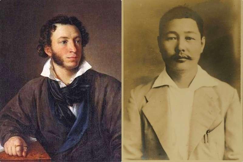 普希金的哀嘆,聽在台灣新文化先驅者賴和的身上,必定有非常強烈的感同身受啊!(圖/想想論壇|風傳媒合成)