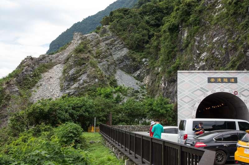 20190612-花蓮清水斷崖,崇德隧道,蘇花公路。(顏麟宇攝)