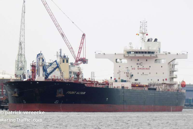 馬紹爾群島籍的「Front Altair」油輪(AP)