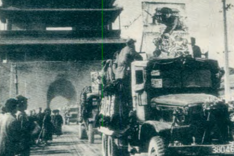 20190613 upload-新新聞0118期-六四事件、北京大屠殺(5-5)-解放軍在1949年贏得戰爭在北京遊行。(新新聞資料室)