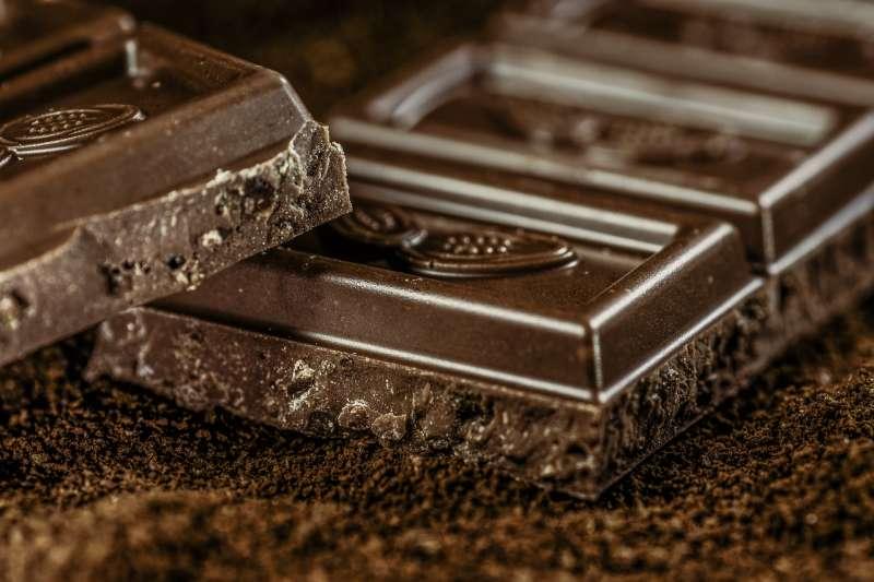 原來黑巧克力有這麼多好處!(圖/pixabay)