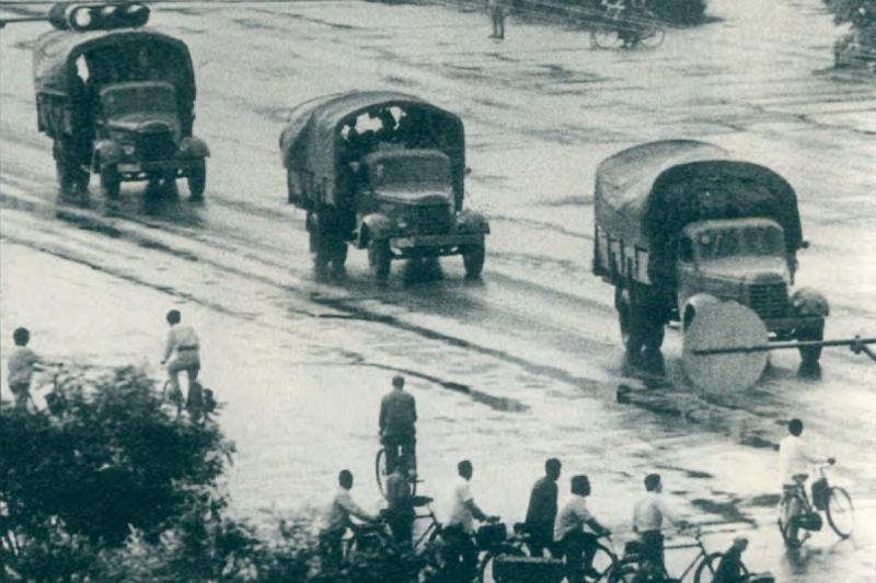 以坦克、解放軍「平息反革命暴亂」只是初步計畫。(資料照,美聯社)