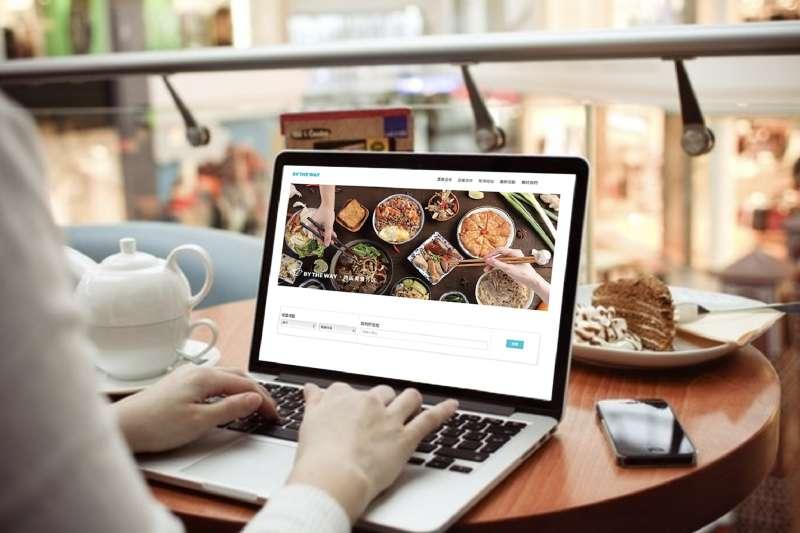 BY THE WAY外送美食平台提供跨區美食外送服務,揪團共享運費更划算(圖/BY THE WAY)