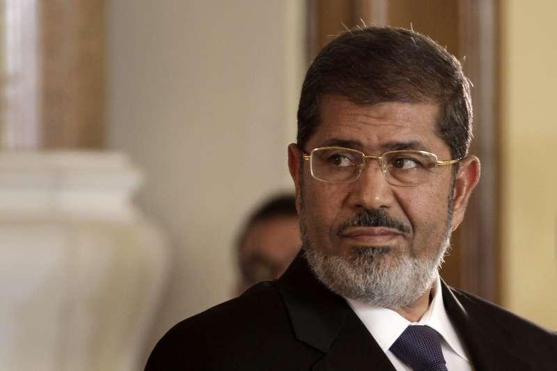 埃及前總統穆爾西(Mohamed Morsi),攝於2012年7月。(資料照,AP)