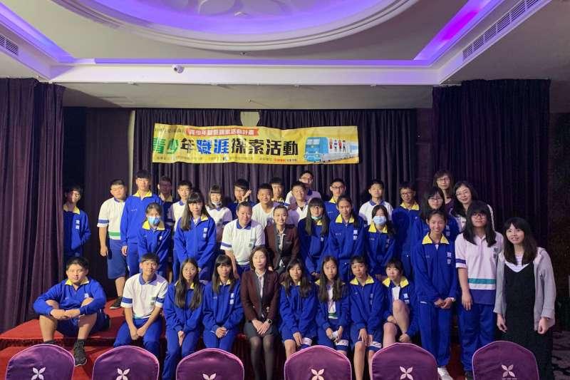 針對青少年就業,台中市勞工局全年舉辦30場職場體驗。(圖/台中市政府提供)