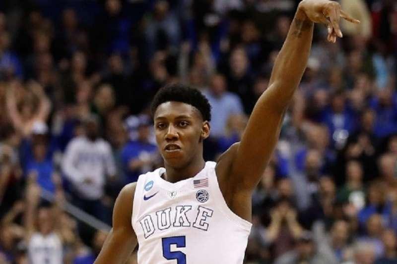 杜克大學新秀巴雷特能否站穩NBA?教父奈許為他掛保證:他可以打八次明星賽。 (美聯社)