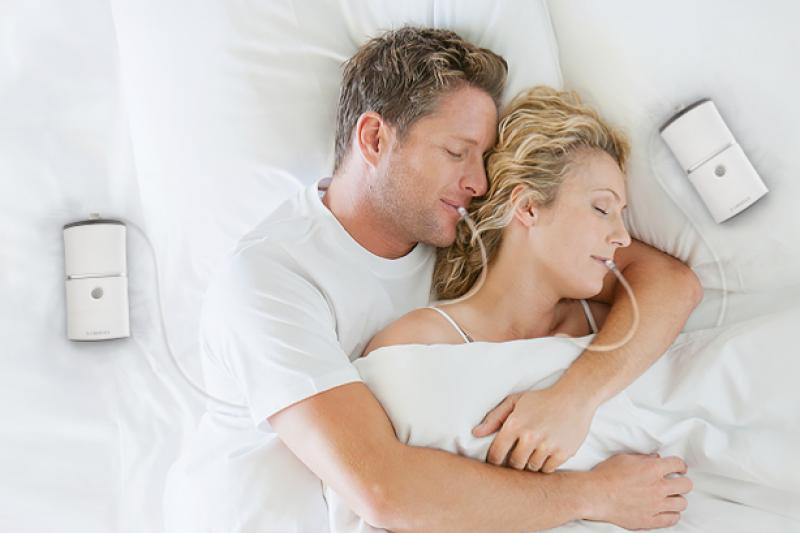 萊鎂醫的iNAP負壓睡眠呼吸治療裝置適用於改善呼吸中止症,提昇睡眠品質(圖/萊鎂醫療器材)