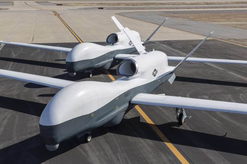 美軍的MQ-4C Triton無人機。(美國海軍官網)